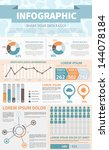 common infographic template... | Shutterstock .eps vector #144078184
