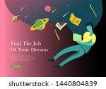 job presentation banner page....