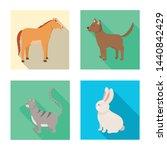 vector design of breeding and... | Shutterstock .eps vector #1440842429