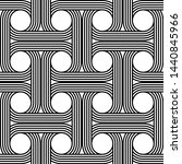 design seamless interlaced... | Shutterstock .eps vector #1440845966