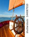 Smooth sailing on a classic schooner with a close view of the captain