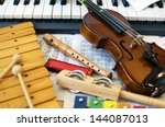 musical instruments for...   Shutterstock . vector #144087013