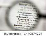 Small photo of The word or phrase Beseech in a dictionary