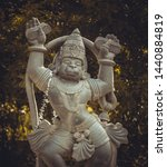 Small photo of Lord Hanuman ardent devotee of Lord Rama. Lord of strength and he is an celibacy.