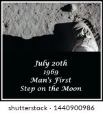 July 20th  1969 Mankind Takes...