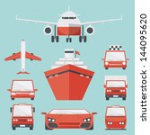 transport icon minimal design ... | Shutterstock .eps vector #144095620