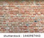 blank red brick wall. urban...   Shutterstock . vector #1440987443