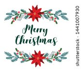 vector print with text merry...   Shutterstock .eps vector #1441007930