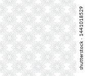 gray seamless print on white... | Shutterstock .eps vector #1441018529