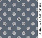 childish seamless pattern...   Shutterstock .eps vector #1441085576