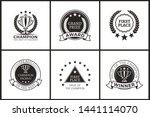 grand prize of champion... | Shutterstock . vector #1441114070