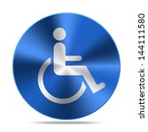 disabled symbol | Shutterstock .eps vector #144111580