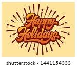 stylish calligraphic... | Shutterstock .eps vector #1441154333