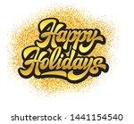 stylish calligraphic... | Shutterstock .eps vector #1441154540