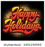 stylish calligraphic... | Shutterstock .eps vector #1441154543