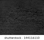 brick wall background  close up | Shutterstock . vector #144116110