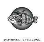design emblem for seafood...   Shutterstock .eps vector #1441172903