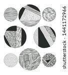 grunge halftone drawing...   Shutterstock .eps vector #1441172966