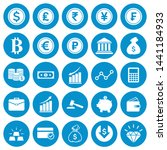 vector money and finance icon... | Shutterstock .eps vector #1441184933