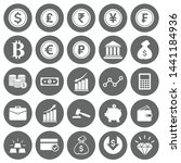 vector money and finance icon... | Shutterstock .eps vector #1441184936