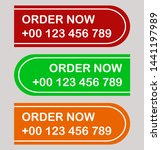order vector banner and badge