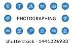 set of photographing icons such ... | Shutterstock .eps vector #1441226933