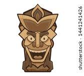 smiling idol icon. cartoon of...