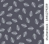 seamless pattern with outline... | Shutterstock .eps vector #1441279259