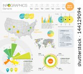 detail infographic vector... | Shutterstock .eps vector #144129094