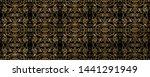 seamless picture. raised ocher... | Shutterstock . vector #1441291949