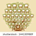 family tree template vector... | Shutterstock .eps vector #1441309889