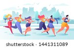 active people characters...   Shutterstock .eps vector #1441311089