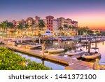 Naples  Florida  Usa Town...