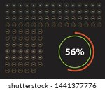 circle percentage diagrams from ...