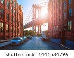 Manhattan Bridge Between...