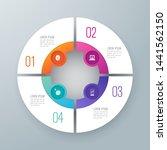 infographics design vector and... | Shutterstock .eps vector #1441562150