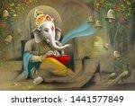 Hindu Lord Ganesha Texture...