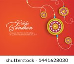 rakhi festival background... | Shutterstock .eps vector #1441628030