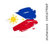 Philippines Flag. Vector...