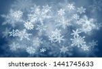 christmas blurred background of ...   Shutterstock .eps vector #1441745633