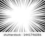 radial stripes abstract... | Shutterstock .eps vector #1441746086