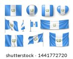 various flags of guatemala... | Shutterstock .eps vector #1441772720