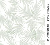 tropical pattern background... | Shutterstock .eps vector #1441795289