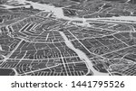 aerial view city map amsterdam  ... | Shutterstock . vector #1441795526
