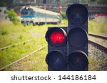 Traffic Light Shows Red Signal...