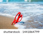 closeup of a pair of red... | Shutterstock . vector #1441864799