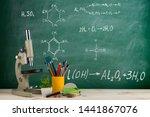 education concept   microscope... | Shutterstock . vector #1441867076