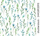 seamless pattern with hand... | Shutterstock . vector #1441892093