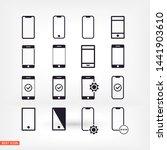 phone vector icon   lorem ipsum ...