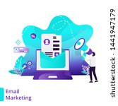 landing page email marketing...